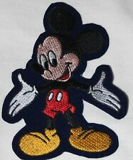 $1 Walt Disney Mickey Mouse sewing craft Sew On Embroidered Applique Patch p1