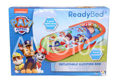 Paw Patrol Ready Bed Kids Sleeping Bag with Head Board Air Mattress & Pump New