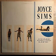 """Joyce Sims """"Come Into My Life"""" 1987 London Records LP Import Funk/Soul  VG+"""