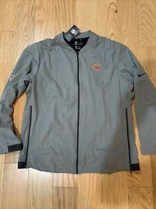 Nike NFL Chicago Bears Full Zip Jacket On Field Sz L BNwT Rare AR0828-099