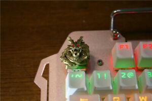 Dragon Gold Metal 3D Key Cap ESC for Cherrt MK Dragon Ball Animal Collection