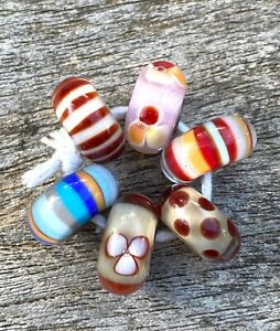 Authentic Trollbeads mixed glass kit