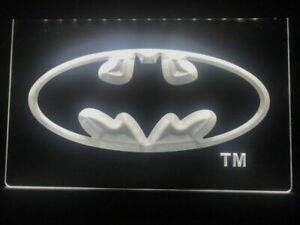 Hero Batman LED Neon Light Sign Bar Club Pub Advertise Home Decor Gifts Men Cave