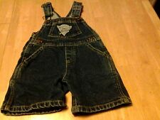 "BABY ""GUESS"" OVERALLS-SIZE 18 MOS.-GUESS LOGOS AND NAME ON METAL PIECES"