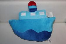 NANU nana barca nave Blu Cuscino Peluche Orsacchiotto schmuse animale RAR 45cm NUOVO