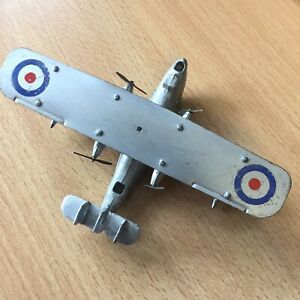 Dinky Aircraft 60h Singapore Flying Boat 1940 Aeroplane Plane. Early Red Roller