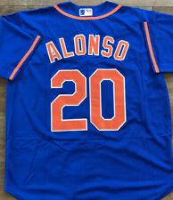 Pete Alonso #20 New York Mets Blue Jersey XL