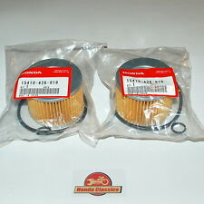 Honda 15410-426-010 Genuine Oil Filter x 2 CB500 CB550 CB650 CB750 SOHC. KIT006
