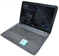 "HP 15-af131dx Notebook 15.6"" Laptop AMD A6-5200 2.00GHz 4GB RAM 250GB HDD No OS"