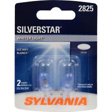License Light Bulb-SilverStar Blister Pack Twin SYLVANIA 2825ST.BP2