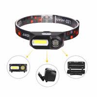 90000LM COB+LED Headlamp Headlight Flashlight Head Torch 18650 Work Light Lamp