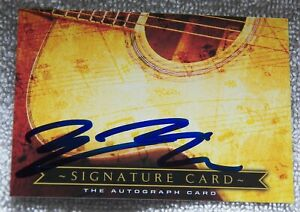 Zac Morris Signed Signature Card Auto New Years Day Ugly Kid Joe