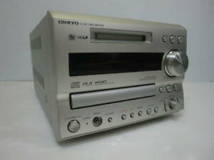 ONKYO FR-X9A Used Working condition CD MD TUNER Amplifier Recorder Deck Japan
