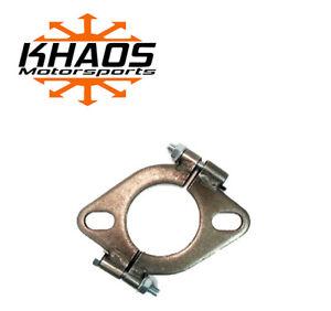 "2"" inch Exhaust Flange Flat Oval Split Repair Replacement"