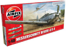 Airfix Messerschmitt Bf109E-3/E-4 1:48 Scale Plastic Model Airplane A05120B