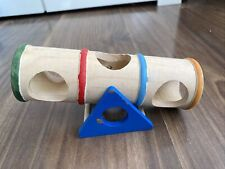 Wooden Colourful Dwarf Hamster / Mouse Seesaw