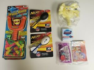 Mixed Kids Outdoor Toys Nerf Water Bomb Finger Hockey Plush Toys Lot Of 7