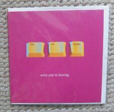 Ctrl, Alt, Delete sorry you're leaving Greetings Card