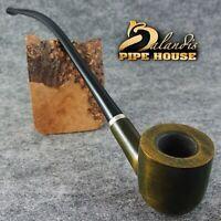 BALANDIS Original Handmade Tobacco SMOKING PIPE - 11 CHURCHWARDEN - WIZARD TOPAZ