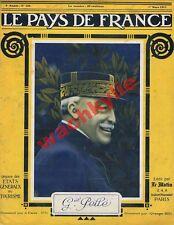 Le pays de France 124 01/03/1917 Général Pellé Suisse Mont Athos El Arish Rouffé