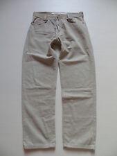 Diesel Saddle Jeans CORD Hose, W 33 /L 32, Silber Sattel, weiter Oberschenkel  !