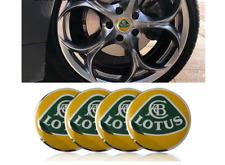 4 Stickers centre de roue Lotus 56 mm