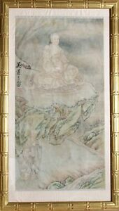 Unknown, Chinese, Buddha, Watercolor on Paper