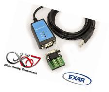 KALEA-INFORMATIQUE © - Convertisseur USB vers RS232 RS422 RS485 - CHIPSET EXAR X
