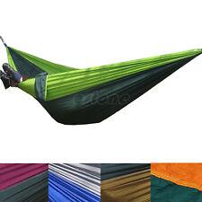 Portable Parachute Nylon Tissu Hamac pour deux personnes Voyage Camping Hamac