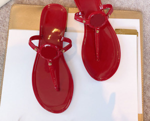 Women PVC Sandals Slippers Mules Beach Shoes Flip Flops Metal Green Summer Shoes