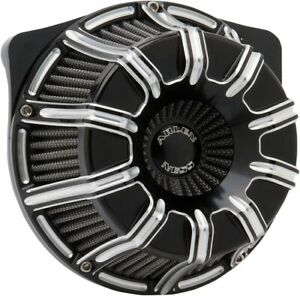 Arlen Ness H-D Twin-Cam Inverted Series 10-Gauge Air Cleaner Kit (Black) 18-943