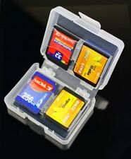 8 in 1 SD SDHC Memory Card Case Holder - Hard Protective Box for 16gb 32gb 64gb