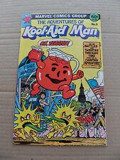 The Adventures Of Kool-Aid Man 2 . Promo .Marvel 1984 . VF