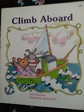 Climb Aboard Library Binding Rose, Palazzo, J. Greydanus1988 vintage kids book