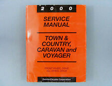 Service Manual, 2000 Town & Country/Caravan/Voyager (NS), FWD/AWD, 81-370-0005
