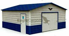 Garage, 20X21  ALL STEEL metal carport INSTALLED Price!  FREE DELIVERY!