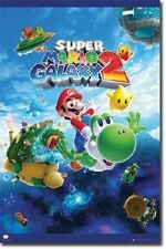 NINTENDO SUPER MARIO GALAXY 2 VIDEO GAME POSTER NEW 22x34 FREE SHIPPING