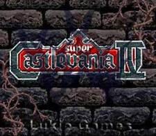 Super Castlevania IV 4 - Rare SNES Super Nintendo Game