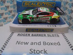 "Scalextric C4218 Aston Martin Vantage GT3  #76 Bathurst 20"" DPR lights BNIB NEW"