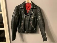 VINTAGE 80's BELSTAFF DISTRESSED LEATHER BRANDO  MOTORCYCLE JACKET SIZE 36""