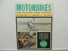 Spring 1966 Motorbikes On Roads And Trails Magazine Honda 50 Yamaha Trail L9237
