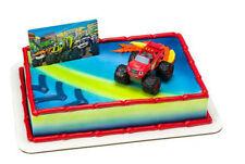 Blaze and the Monster Machines cake decoration Decoset cake topper set
