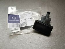 Genuine Mercedes-Benz R129 SL Center console box armrest push button A1296830155