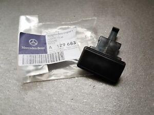 Genuine Mercedes-Benz R129 SL Center console box armrest push button A1296830155