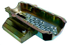 "NEW SBC OIL PAN W/ LOUVERED TRAY,7 QT,7"" DEEP,RACING"