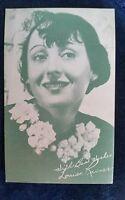 Louise Rainer Arcade Exhibit Card 1940's MOVIE ARCADE CARD