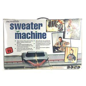 Bond Incredible Sweater Machine Vintage 90s Opened Original Box