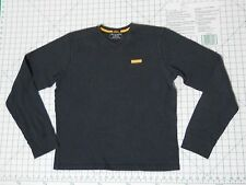ABERCROMBIE & FITCH Crewneck Sweater - Men's Size M - Muscle Ribbed Blue