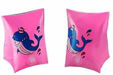Children's Inflatable HAND TUBE Floating Aid for SWIMMING  - Pink