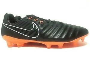 Nike Mens Tiempo Legend 7 VII Pro FG Soccer Cleats Black AH7241-080 Choose Size